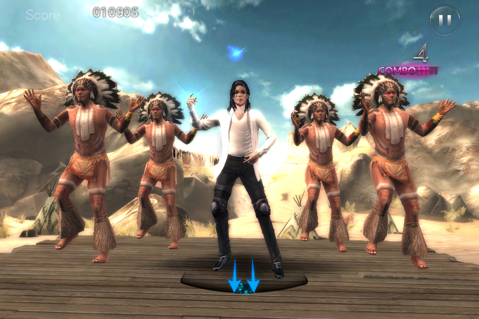 Michael Jackson The Experience iPhone, iPad Screenshot